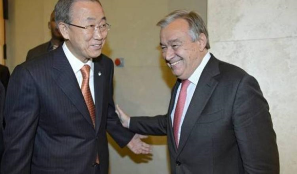 Who is the next UN Secretary-General to replace Ban Ki-moon?